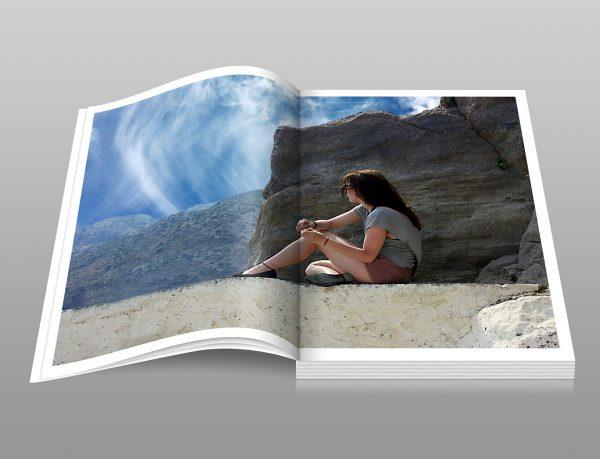 Het online ontwerpen van een fotoalbum